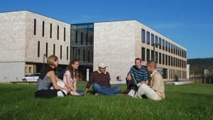 Estudiantes universitarios en Alemania.