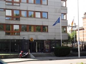 Embajada de Alemania en La Haya.