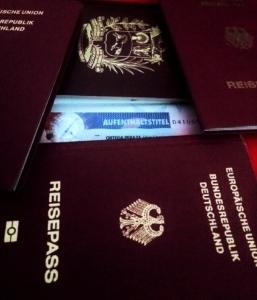 Visas para Alemania.