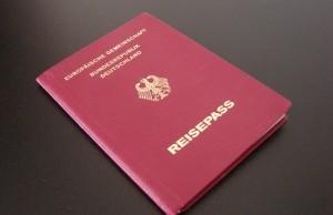 Reisepass alemán