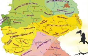 El Alemán y sus dialectos
