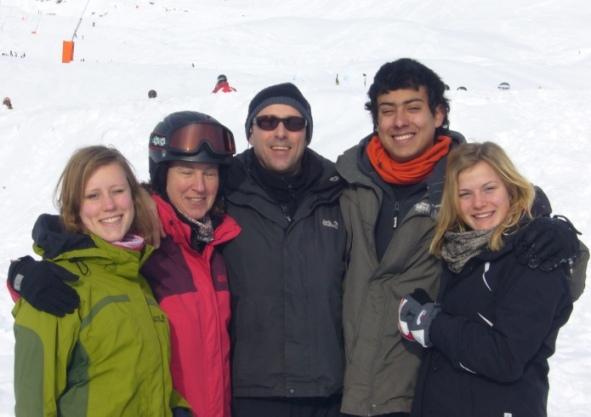 Familiares del residente en Alemania